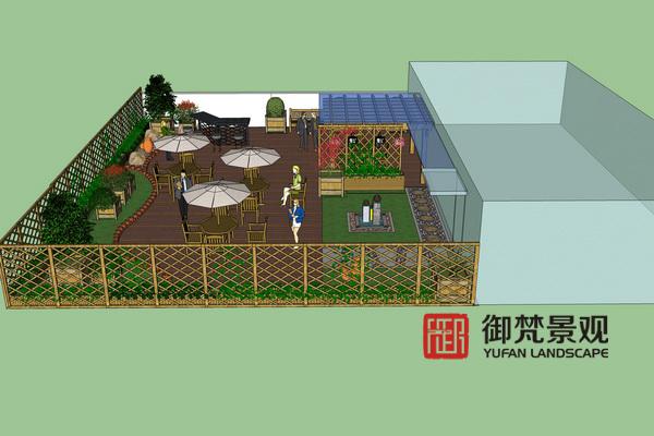 兰舍屋顶景观工程设计方案